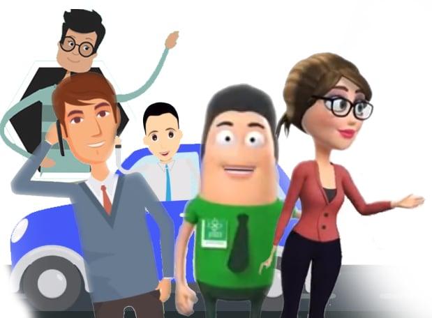 סרטוני אנימציה